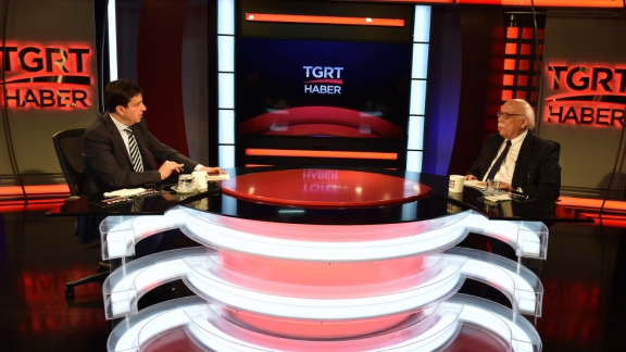 TGRT News Channel hosts Minister Avcı on live program